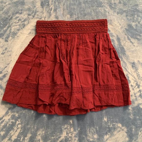 Aeropostale Dresses & Skirts - Red Skirt FINAL PRICE